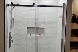 new custom built shower