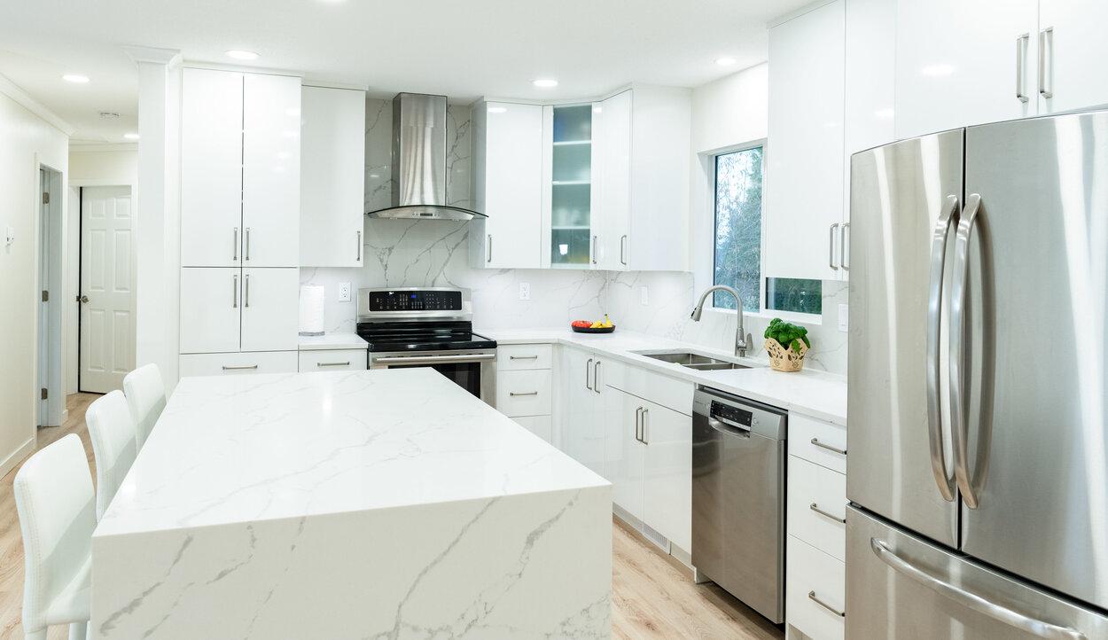 recent kitchen remodelling