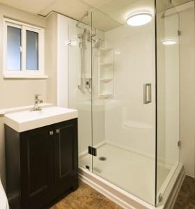Modern Walk-in shower